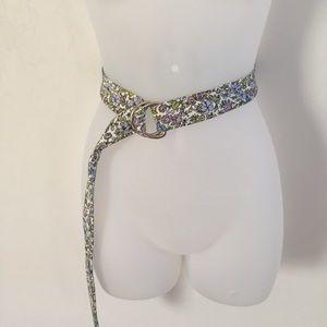 J. Crew floral adjustable belt
